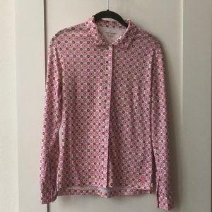 Tory Burch Sport Pink Button Down Shirt - Size S